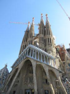 Spanija, barselona, sagrada familia, gaudi, katedrala, odmor