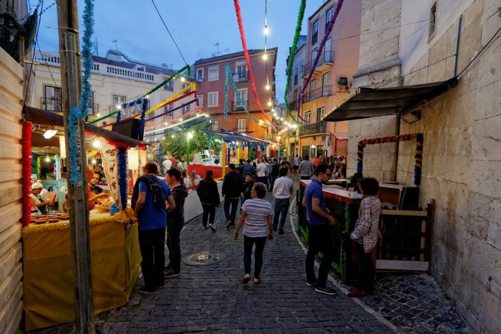 lisabon, portugal, grad, putovanje, ulica, destinacija
