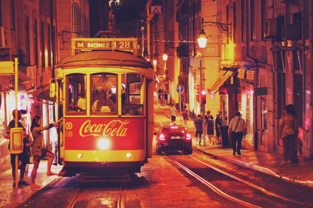 lisabon, portugal, gradski prevoz, putovanja, odmor