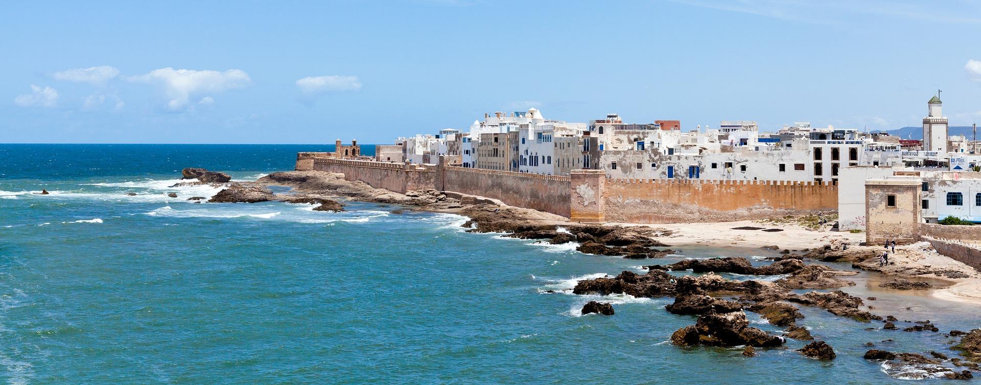 maroko, okean, plaže, letovanje