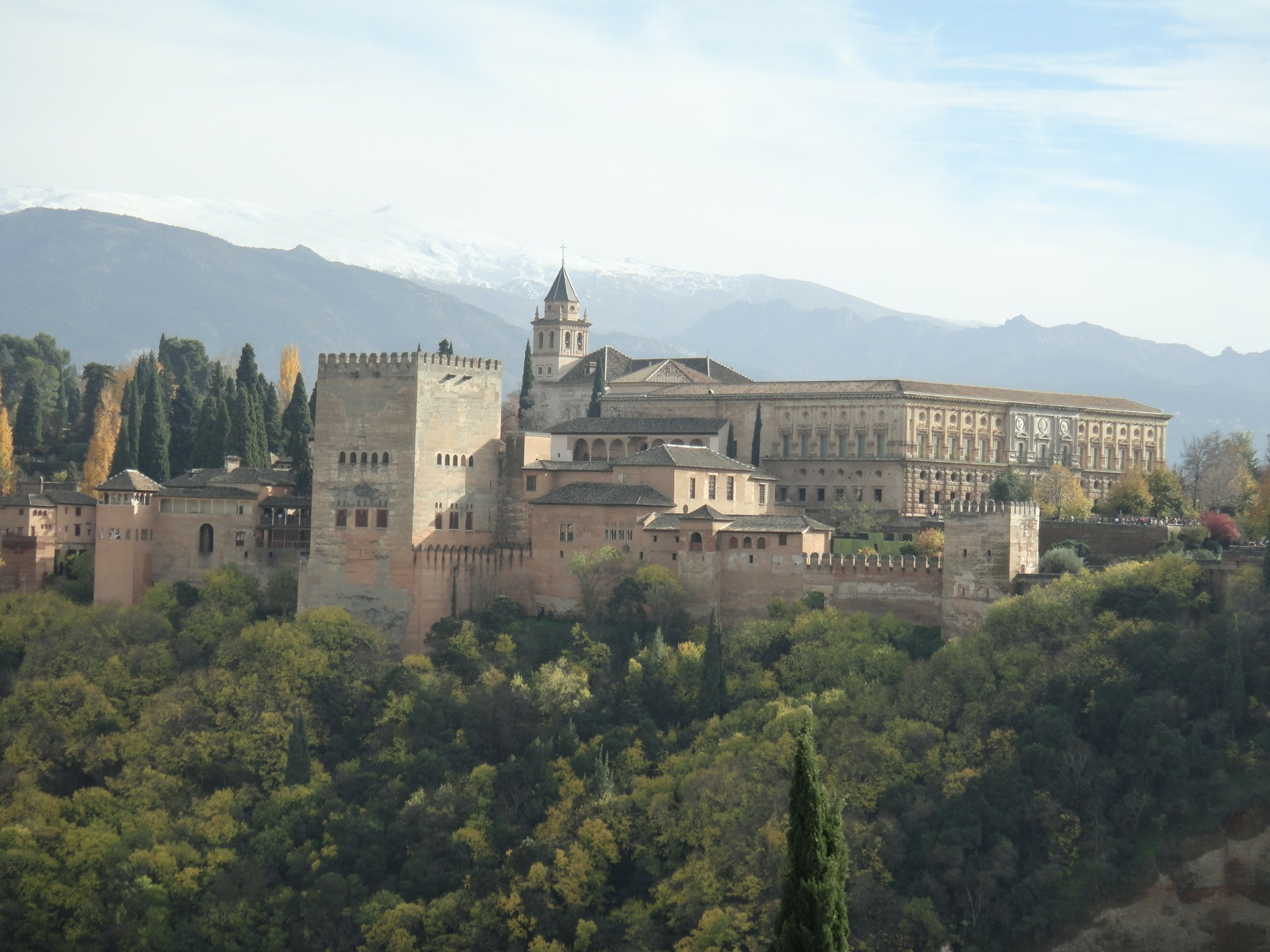 granada, španija, andaluzija