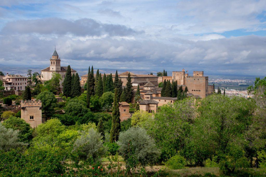 andaluzija, granada, španija, grad,
