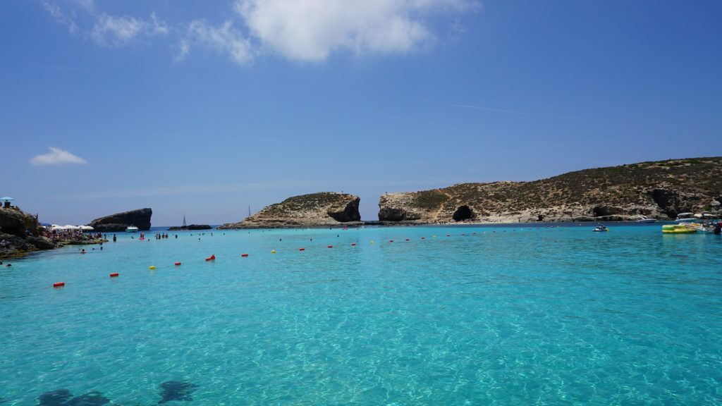 blue lagoon, plava laguna, malta, plaža