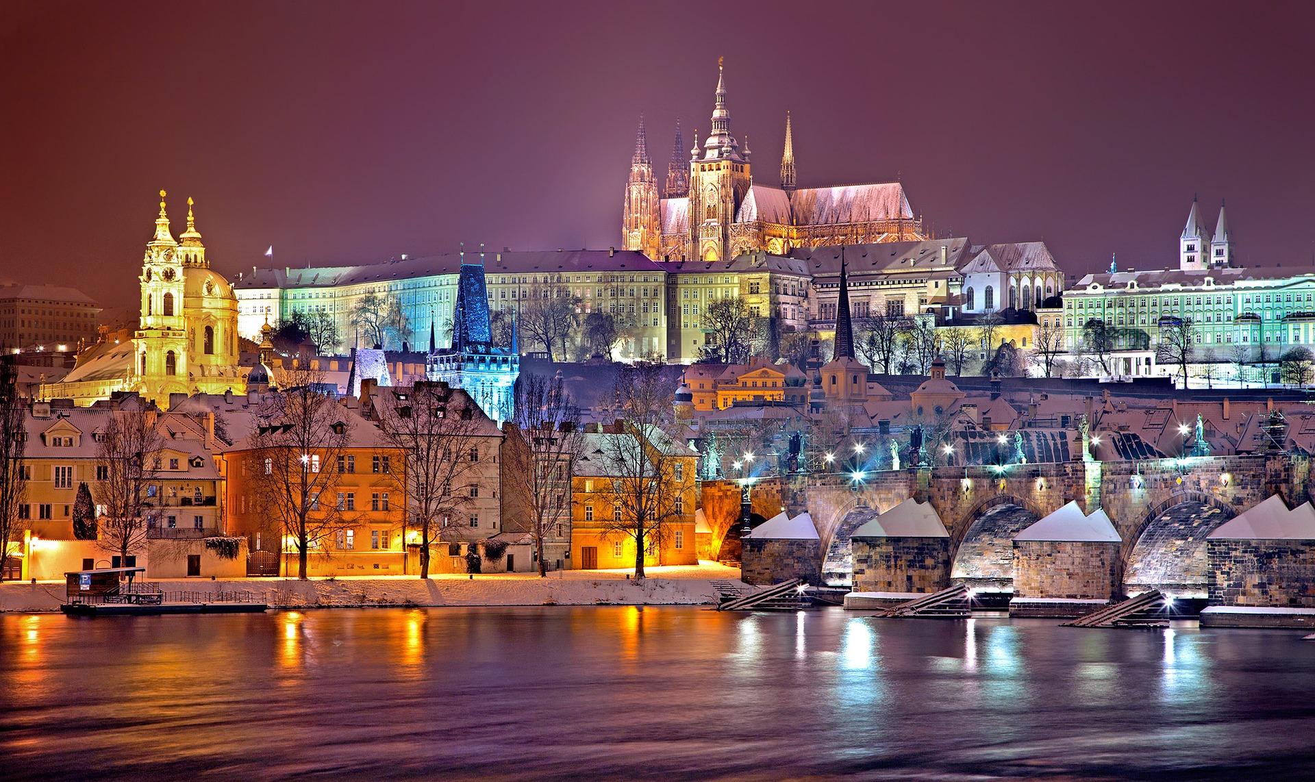 Prag, češka, evropa, prestonica,