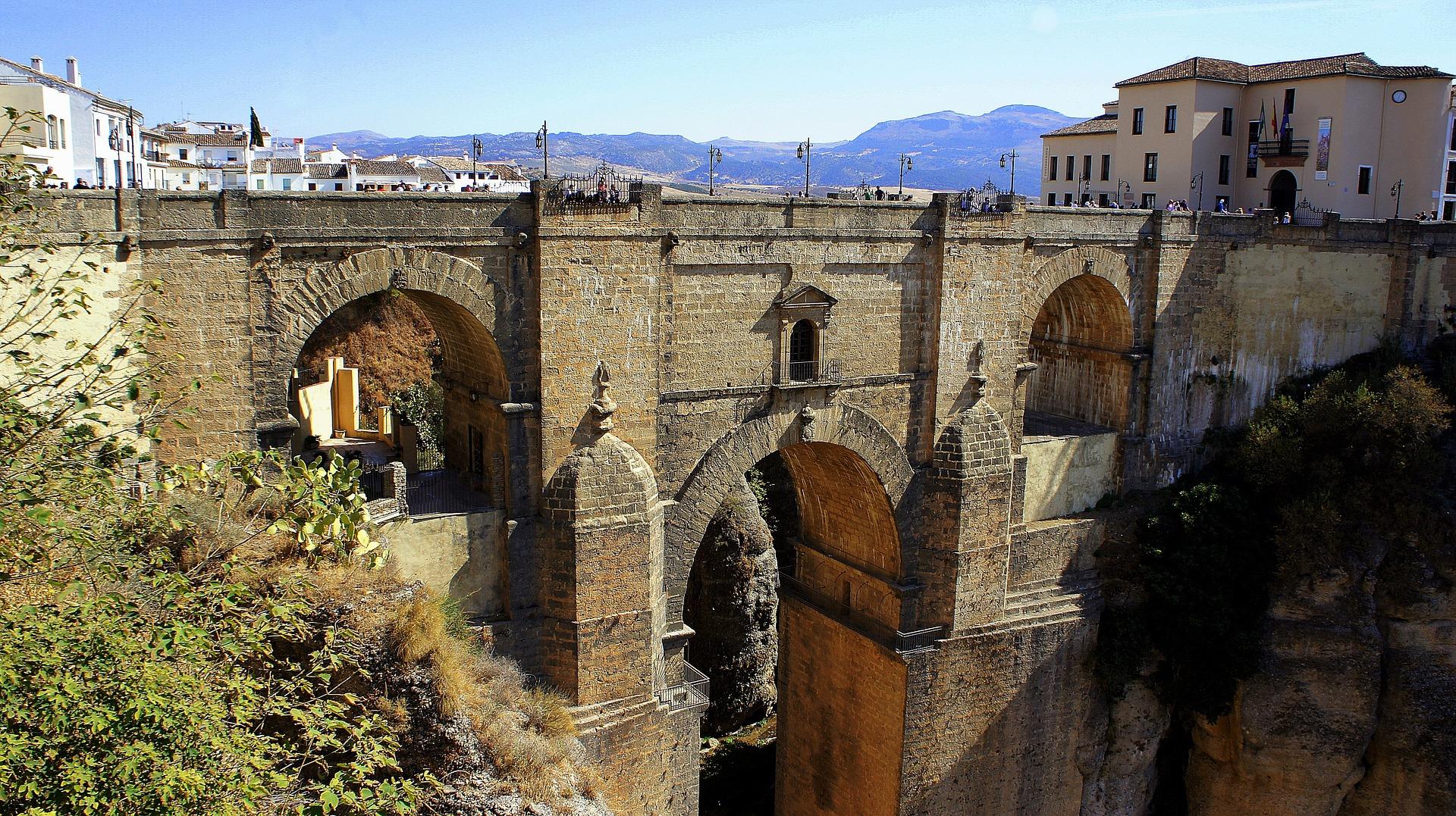 ronda, andaluzija, španija, grad