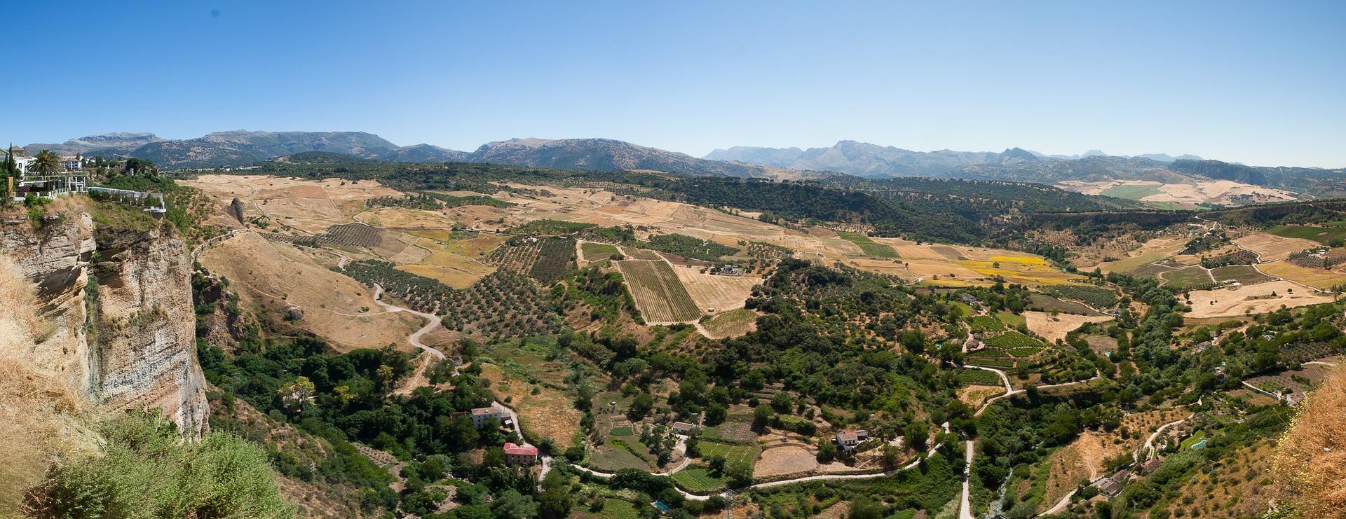 pogled, ronda, španija, andaluzija